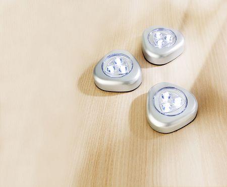 Magnet 3Pagen Lampa LED 3ks