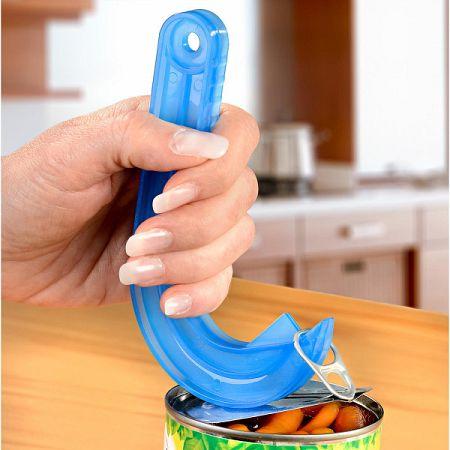 Magnet 3Pagen Špeciálny otvárač na plechovky, modrá