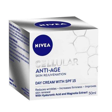 NIVEA denný krém na omladenie pleti Cellular Anti Age SPF 15 50 ml