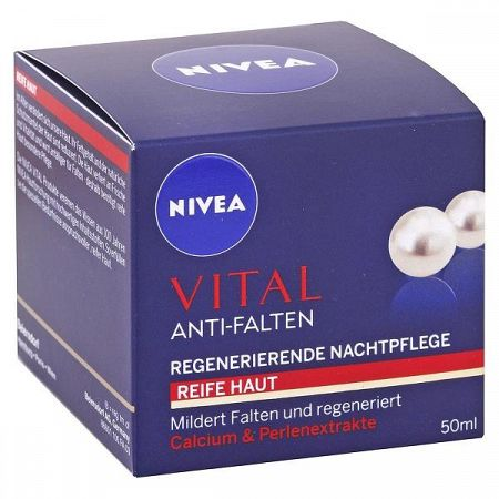 NIVEA nočný krém proti vráskam 50 ml