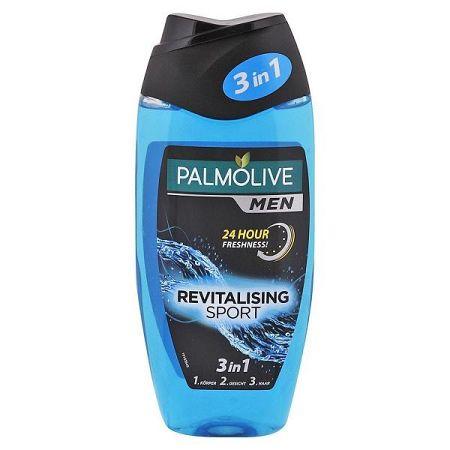 PALMOLIVE Men sprchový gél pre mužov Revitalising Sport 3v1 250 ml