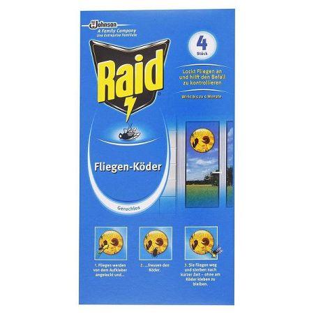 RAID nástraha na muchy 4 ks
